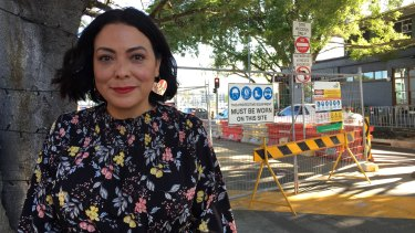 Ingrid Steven, a business owner along Racecourse Road, wants more done to support businesses during the Kingsford Smith Drive upgrade delays.