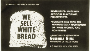 The Conscience of the Art World: We Sell White Bread.