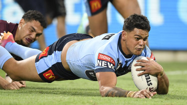 Latrell Mitchell said he was more tired than usual after the match.