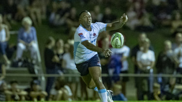 Kurtley Beale got through 70 minutes in Dalby in his first match of the year.