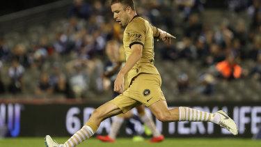 Looking elsewhere: Matt Jurman is set to leave Western Sydney Wanderers.