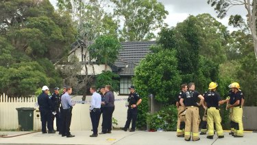 An explosion at a Hamilton Road property in Chermside West saw a person treated for serious arm and leg injuries.