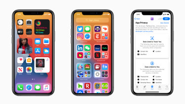 iOS 14 brings changes to home screen and app management, plus new privacy tools.