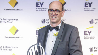 Founder of Medicines Development for Global Health, Mark Sullivan. Sullivan won the EY social entrepreneur of the year award in Sydney last week.