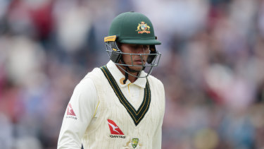 Usman Khawaja has been dropped for the fourth Ashes Test against England.