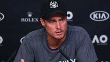 Outspoken: Lleyton Hewitt is far from a fan of the new Davis Cup format.
