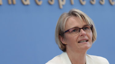 Germany's Minister for Research Anja Karliczek is leading the development of the country's hydrogen industry.