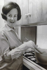 Joy Westmore, the first Victorian to receive natural gas in 1969.