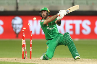 Glenn Maxwell scored an impressive 66 but his Melbourne Stars have missed the Big Bash finals.