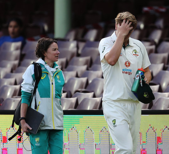 Australian Cricket Team S Injury Woes Deepen As Cameron Green Suffers Blow To The Head