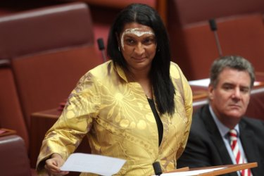 Nova Peris has thrown her support behind the fight to save the trees.