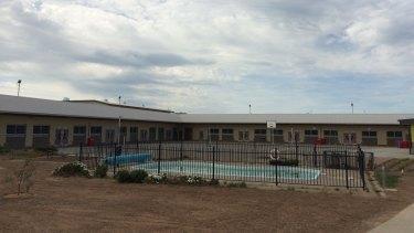 The pool at Hopkins Correctional Facility.