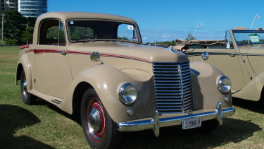 A precursor to the modern twin cab ute was the 1950 Armstrong Siddeley station coupe four seater.