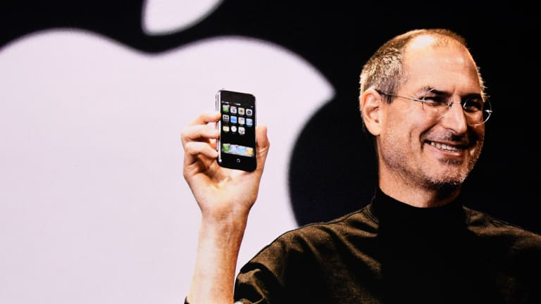 Jobs is credited with making Apple into a status symbol.