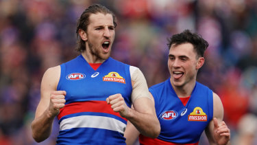 The Bulldogs will play finals for the first time since 2016, the year of their drought-breaking premiership.