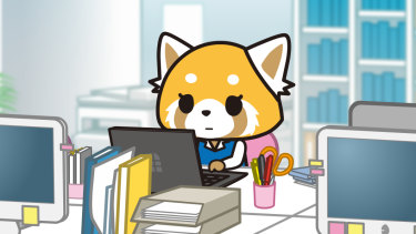 Aggretsuko is a thoughtful reflection of the cruelties of sexist workplace culture, says our reviewer.