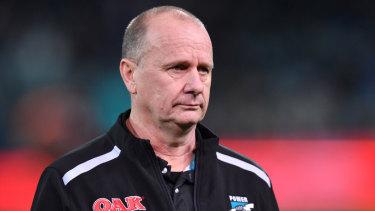 Ken Hinkley admits he has felt the pressure this season.