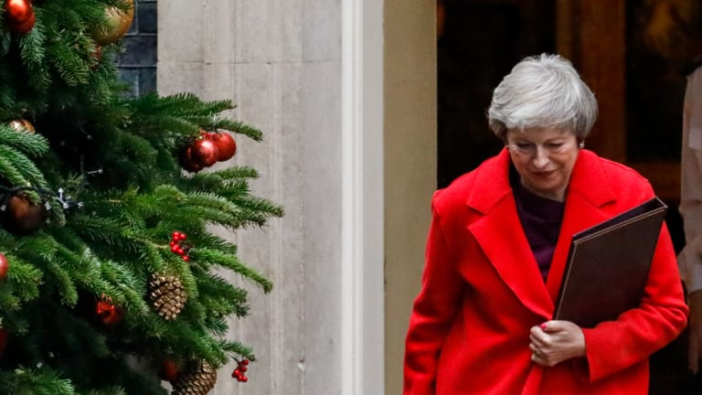 Theresa May is facing a steep uphill slog trying to get her Brexit deal through a hostile Parliament.