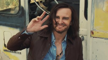 Damon Herriman as Charles Manson in Quentin Tarantino's Once Upon a Time in a Hollywood.