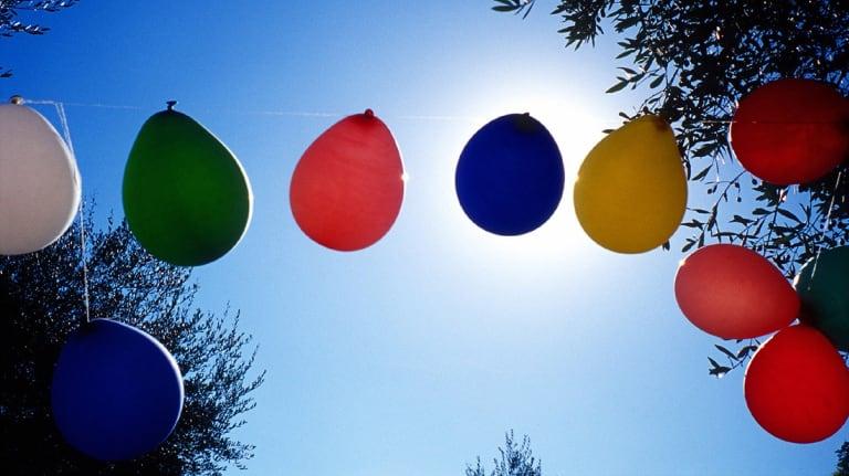 Helium balloons can harm wildlife.
