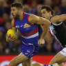 As it happened: Dogs obliterate Saints; Crows upset Dees; Freo pip Swans; Blues beat Hawks; Cats down Suns