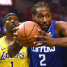Battle of Los Angeles: Leonard leads Clippers to opening win