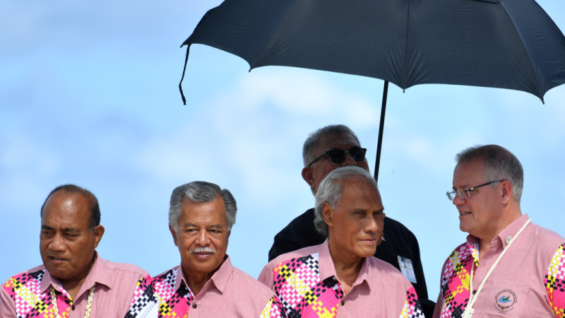 The elephant in the room during PM's 'family' gathering