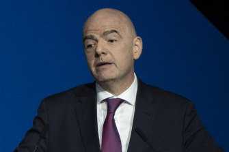 """FIFA president Gianni Infantino has already flagged the opening of a """"Global Football Assistance Fund"""" in response to the coronavirus pandemic."""