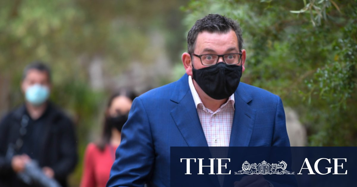 Premier flags first move on face masks as pressure grows on rules – The Age