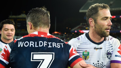 Not invited: Smith snubs Cronk for celebration of his big moment