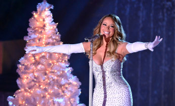 Mariah Carey performing in New York in December 2013.