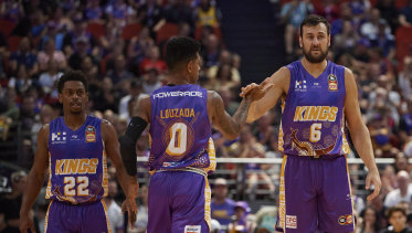 Didi Louzada, Andrew Bogut and the Kings have seen record crowds this season.