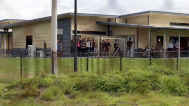 The Brisbane Immigration Transit Accommodation centre at Pinkenba, near the airport.