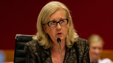 SIRA boss Carmel Donnelly lets loose on the poor performance of icare at a parliamentary inquiry.