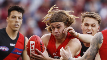 James Rowbottom of the Swans is making an impressive start to his AFL career.