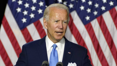 Democratic presidential candidate Joe Biden called out Trump's characterisation of his running mate Kamala Harris.