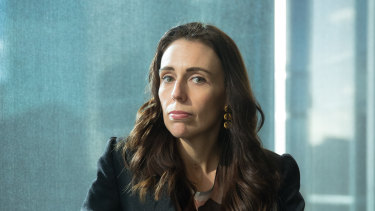 New Zealand Prime Minister Jacinda Ardern, in Melbourne on Friday, said she was yet to see proof the tech companies had an answer to her call for a solution.