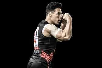 Essendon's trade for Dylan Shiel involved future picks.