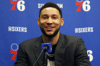 Ben Simmons has overcome back issues.