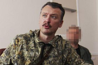 MH17 shooting suspect Igor Vsevolodovich Girkin in 2014.