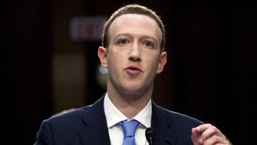 Facebook's Mark Zuckerberg. His Libra cryptocurrency poses a threat to global competition and financial stability.