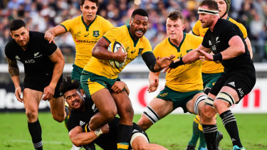 Shake-up: the Wallabies and All Blacks could face off for rugby supremacy at venues like Wembley Stadium under a radical new proposal.