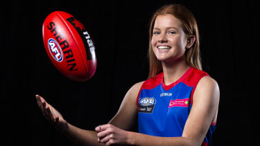 Bulldogs bound: Eleanor Brown has joined the premiers.