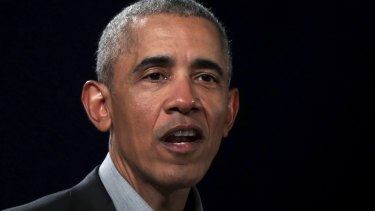 Former president Barack Obama was allegedly targeted by the militia group.