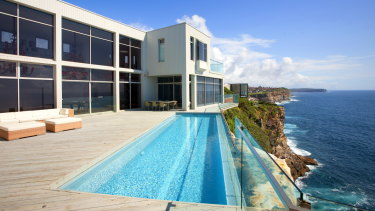 Anthony Bell's $11.5 million property in Dover Heights, where Sam Burgess has been staying.