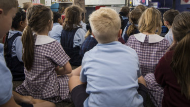 Across Queensland there were 1027 suspensions from prep classrooms and 1956 suspensions from year 1 classrooms.