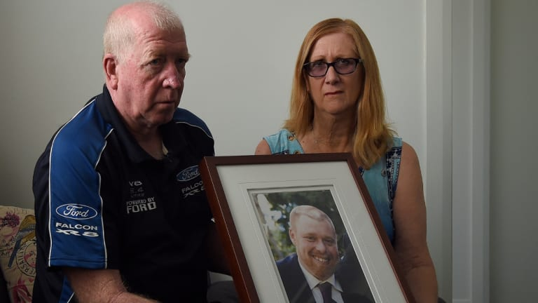 Jeffrey Lindsell's parents, Desmond and Kathleen Lindsell.