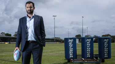 Western world: Waratahs CEO Andrew Hore is delivering on a promise to take the Super Rugby side to the west.