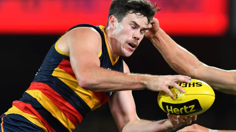 Seeking other pastures: Mitch McGovern.