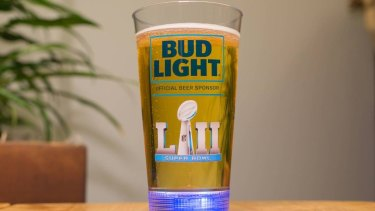 The beer cup created by Buzz for the Super Bowl.?